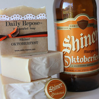 OKTOBERFEST BEER SOAP Shiner- Handmade Soap Bar All Natural Vegan Cold Process Soaps