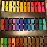 36 Piece Set of Hair Chalk Temporary Hair Color, Ombre Hair Dying