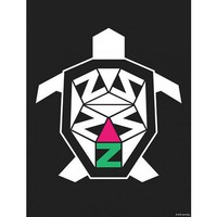 Delta Zeta Turtle Print