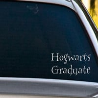 Harry Potter Inspired Hogwarts Graduate Vinyl by NothinbutVinyl