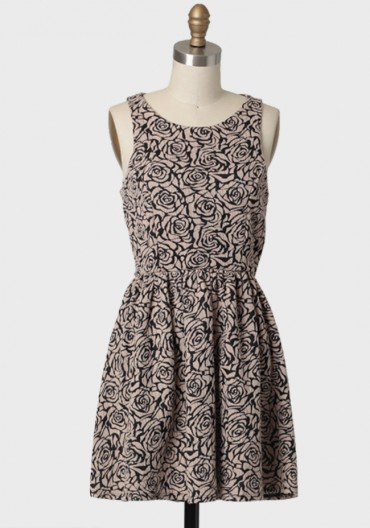 floral maze knit dress at ShopRuche.com