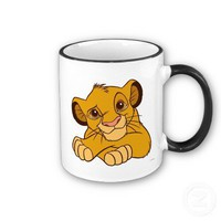 Simba Disney Mugs from Zazzle.com