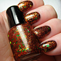 Pumpkinlicious - 15mL bottle of hand made nail polish by Northern Star Polish