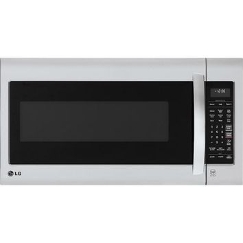 LG - 2.0 Cu. Ft. Over-the-Range Microwave - Stainless Steel