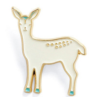 Love You Deer-ly Pin | Mod Retro Vintage Pins | ModCloth.com