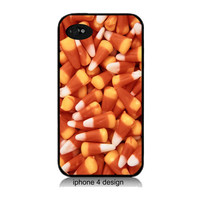 Candy Corn Iphone 4 cell phone accessory case, Iphone case, Iphone 4s case,