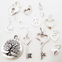 Add a Sterling Silver Charm by imprintedpossessions on Etsy
