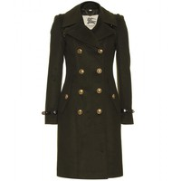 mytheresa.com -  Burberry London - DOUBLE-BREASTED WOOL COAT - Luxury Fashion for Women / Designer clothing, shoes, bags