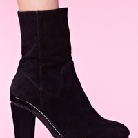 Nasty Gal x Jeffrey Campbell Circuit Platform Boot