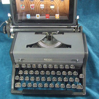 USB Typewriter Computer Keyboard  Royal c 1940 by usbtypewriter