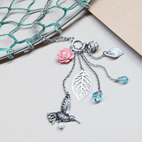 garden gathering charm necklace - $13.99 : ShopRuche.com, Vintage Inspired Clothing, Affordable Clothes, Eco friendly Fashion