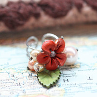 fairytale flower ring by Nakamol - $18.99 : ShopRuche.com, Vintage Inspired Clothing, Affordable Clothes, Eco friendly Fashion