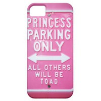 Princess parking iphone 5 cover