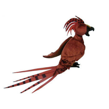 Harry Potter Fawkes Plush Doll - Dumbledore's Phoenix Bird Accessory