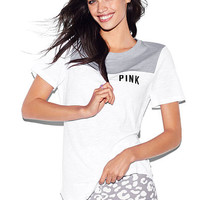 Perfect Legging Sleep Tee - PINK - Victoria's Secret