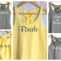 Bridal Party  Set with Wedding Date