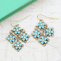 isle au haut flower indie earrings - $29.99 : ShopRuche.com, Vintage Inspired Clothing, Affordable Clothes, Eco friendly Fashion