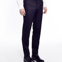 The Idle Man Suit Trousers in Slim Fit - Black