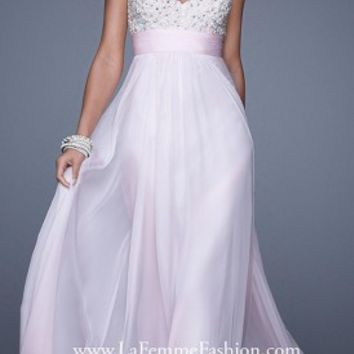 Pearl Strap Prom Dresses By La Femme