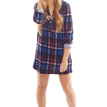 all I want is plaid dress