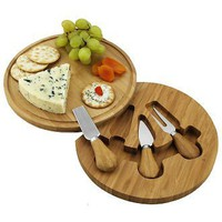 Feta Cheese Board Set - Round, Picnic At Ascot - Barnes &amp; Noble