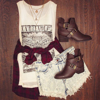 Daydreaming Top - White