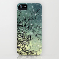 Starry Sky iPhone Case by Violet D'Art | Society6