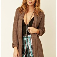 BB Dakota - Cable Neck Cardigan