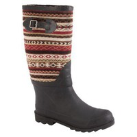Junior,Women MUK LUKS® Fairisle Rain Boots