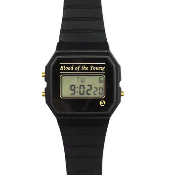 Blood of the Young Digital Watch