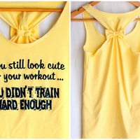 Workout Clothes If you Still look CUTE - Small