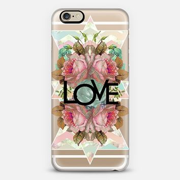 Love transparent iPhone 6 case by Sandra Arduini | Casetify