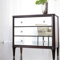 ethanallen.com - modern glamour veronica chest | ethan allen | furniture | interior design