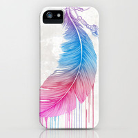 Colors of a Feather iPhone Case by Rachel Caldwell | Society6