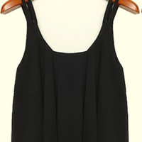 Little Mistress Black Tank Top