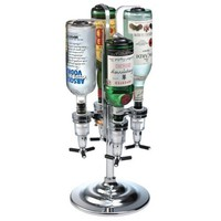 Global Decor 170 Rotating 4 Bottle 1-1/2-Ounce Drink Dispenser: Amazon.com: Kitchen &amp; Dining