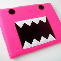 Monster iPad Sleeve by yummypocket on Etsy