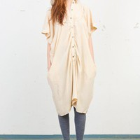 Tsumori Chisato Pleat Collar Dress - Koshka | shopkoshka.com - Shop Japanese & international designer fashion, women's clothes, Tsumori Chisato