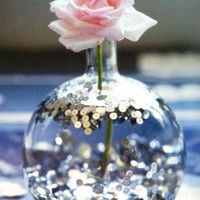 TGIF: Sequin Flower Vase