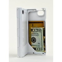iFunner iTur, iPhone 4 4s Case,Hard Plastic Durable ID Credit Card Slim Wallet Case,Holds 4,AT&amp;T Verizon Sprint White: Cell Phones &amp; Accessories