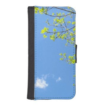Tree Branches iPhone 5/5S Wallet Case
