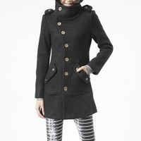 winter coat black coat cashmere coat wool coat winter jacket militory outerwear tailored long coat long sleeves pocket custom women FM018