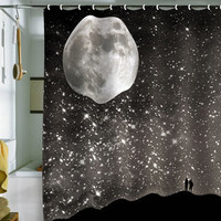 Shannon Clark: Love Under Stars Shower Curtain, at 29% off!