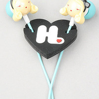 The Harajuku Lovers Super Kawaii In-Ear Headphones from Monster