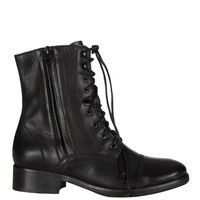 Gloss Military Zip Boot