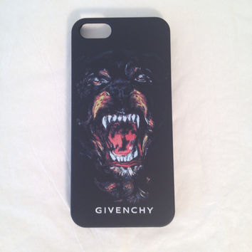 Givenchy phone case with Dog for the iPhone 5 5s - Givenchy phone case Dog