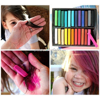Hair Color Chalk,Ombre Hair Dying, Hair Chalking Trend