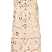 **Embellished Shift Dress by Coco's Fortune - Dresses  - Clothing