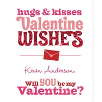 Sending Wishes Valentines Day Cards - Cherishables