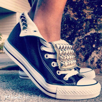 Urban Eclectics — Studded All Star Converse